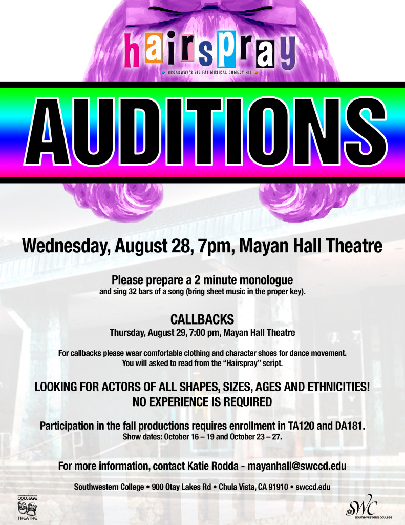 Hairspray Auditions