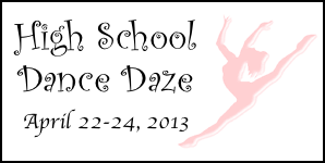 High School Dance Daze 2013