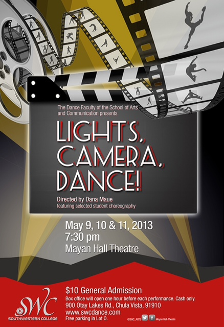 Lights Camera Dance Spring Concert