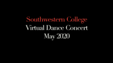 SWC Virtual Dance Concert (Spring 2020)