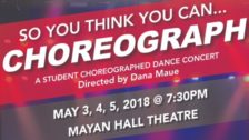 So You Think You Can Choreograph (Spring 2018)